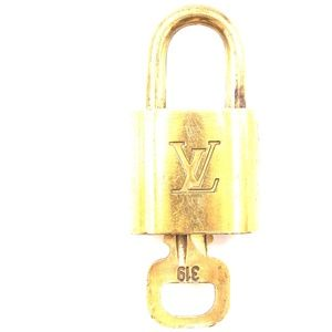 Lock Keepall Speedy Alma Brass and Key Set #319